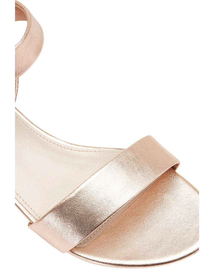 Aiken Rose Gold Metallic Sandal image 7