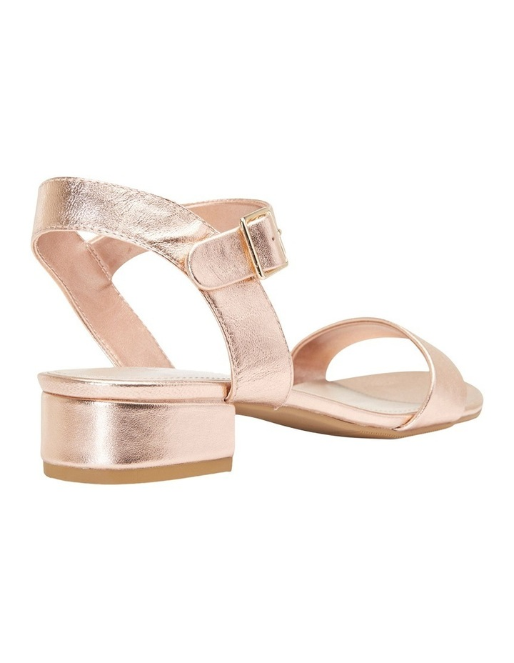 Aiken Rose Gold Metallic Sandal image 8