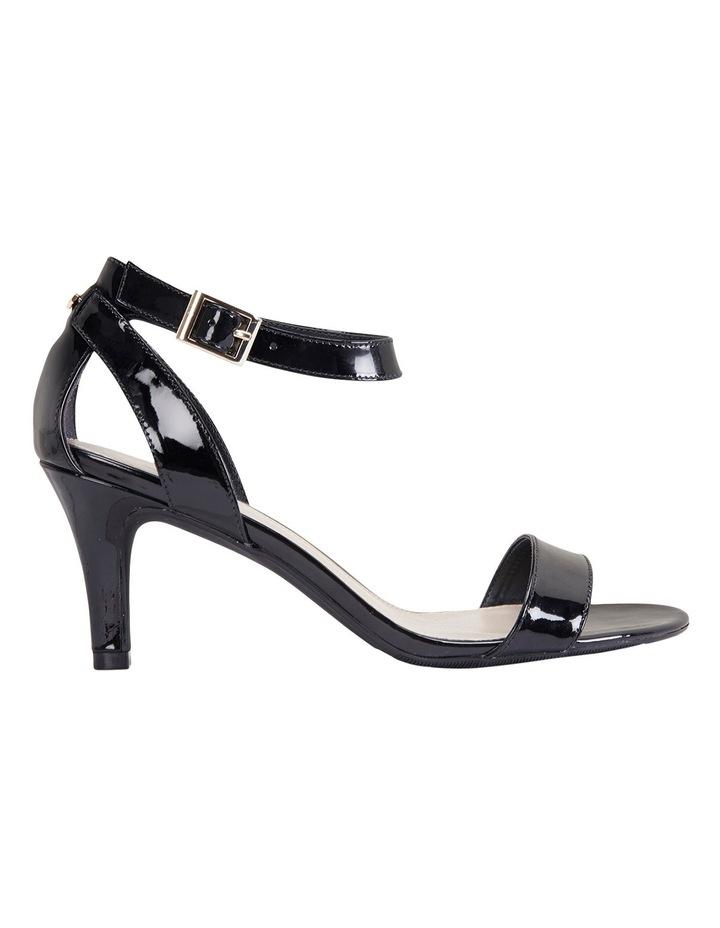 Amalfi Black Patent Sandal image 1