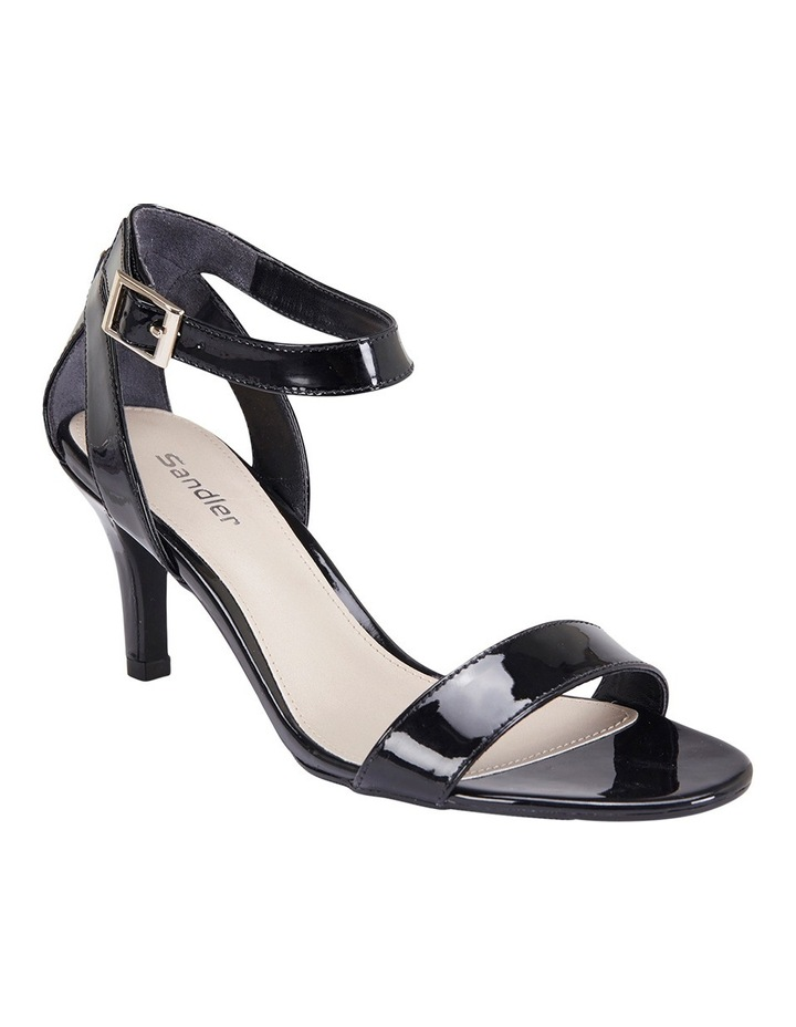 Amalfi Black Patent Sandal image 2