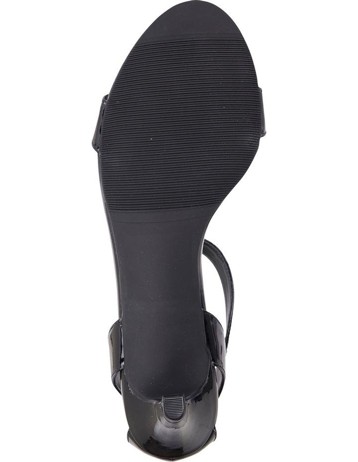 Amalfi Black Patent Sandal image 6