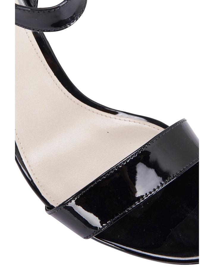 Amalfi Black Patent Sandal image 7