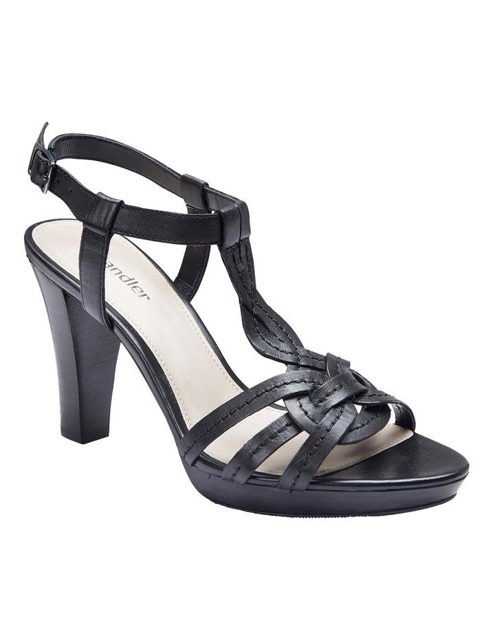Cobra Black Glove Sandal image 2