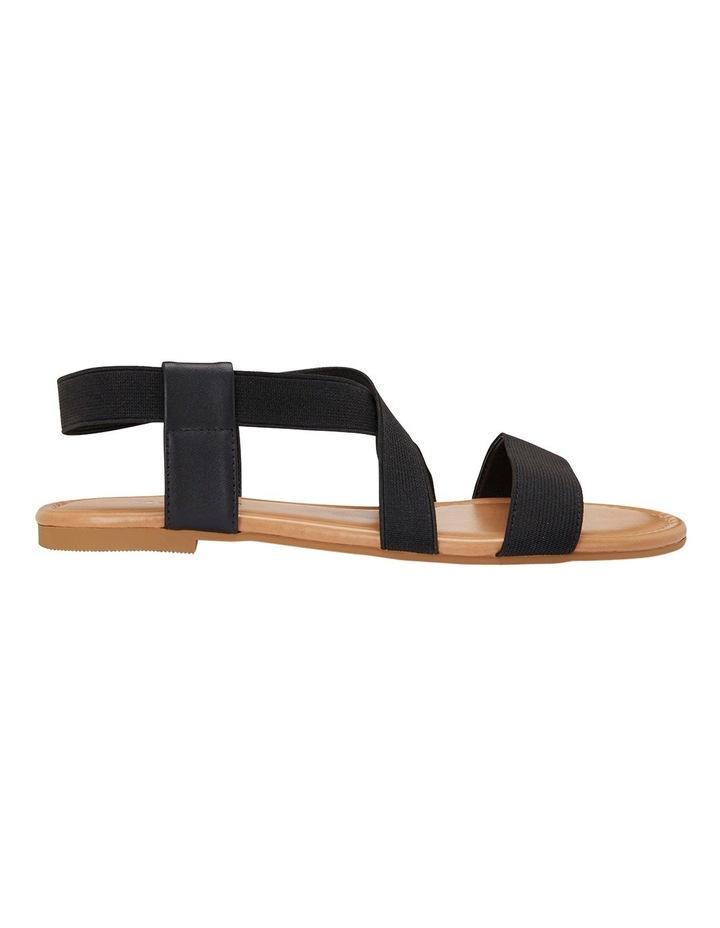 Decoy Black Elastic/Glove Sandal image 1