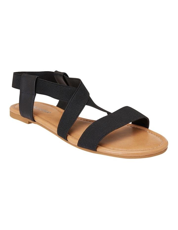Decoy Black Elastic/Glove Sandal image 2