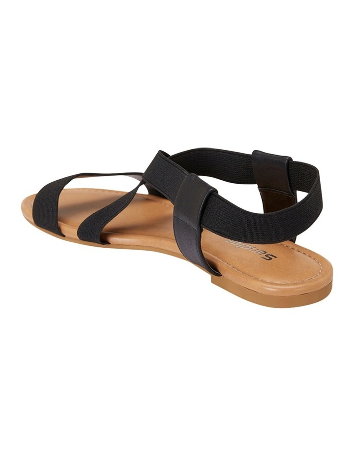 Decoy Black Elastic/Glove Sandal image 3