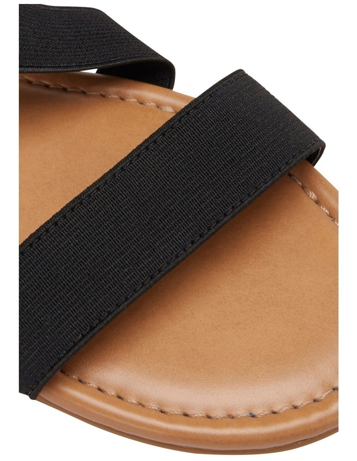 Decoy Black Elastic/Glove Sandal image 4