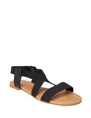 Sandler - Decoy Black Elastic/Glove Sandal