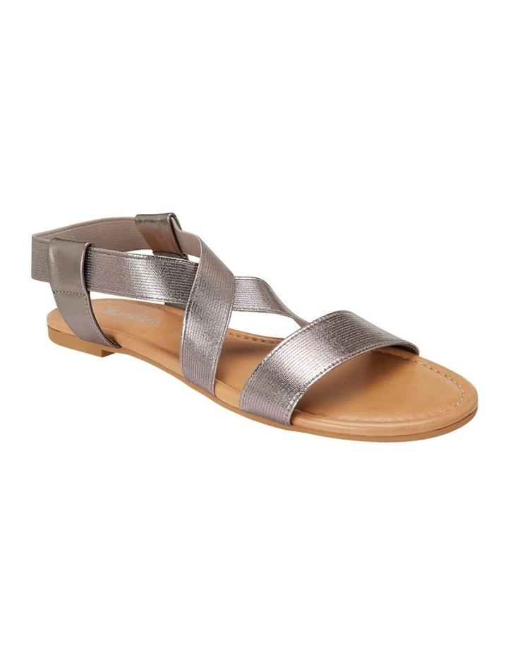 Decoy Pewter Elastic/Metallic Sandal image 2