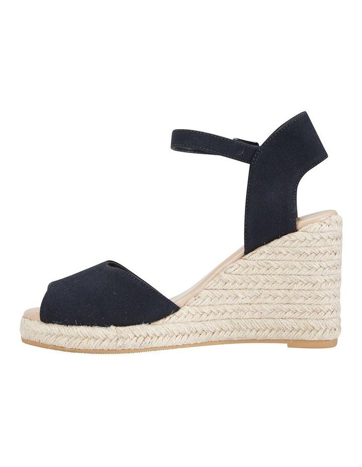 Aloha Black Linen Sandal image 3