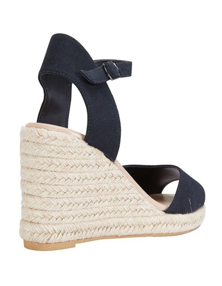 Aloha Black Linen Sandal image 4