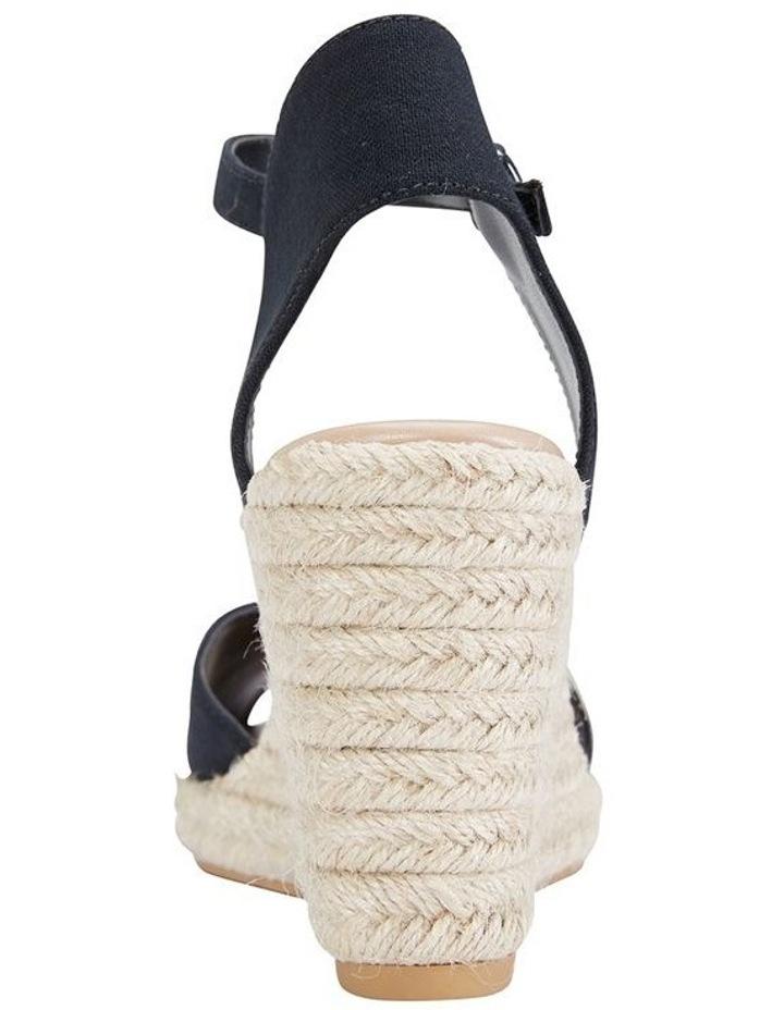 Aloha Black Linen Sandal image 5