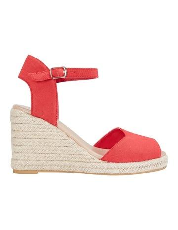 ff8535ef00a5 Sandler Aloha Red Linen Sandal