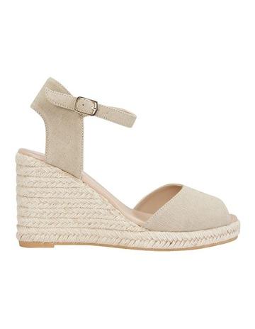 932182285df9d2 Sandler Aloha Taupe Linen Sandal
