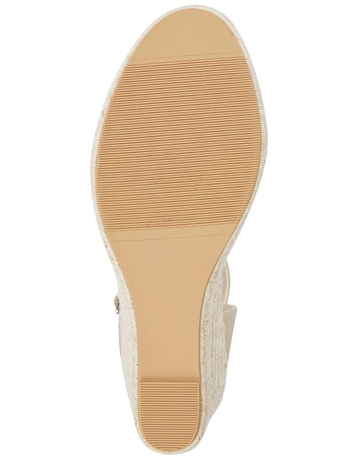 Aloha Taupe Linen Sandal image 6