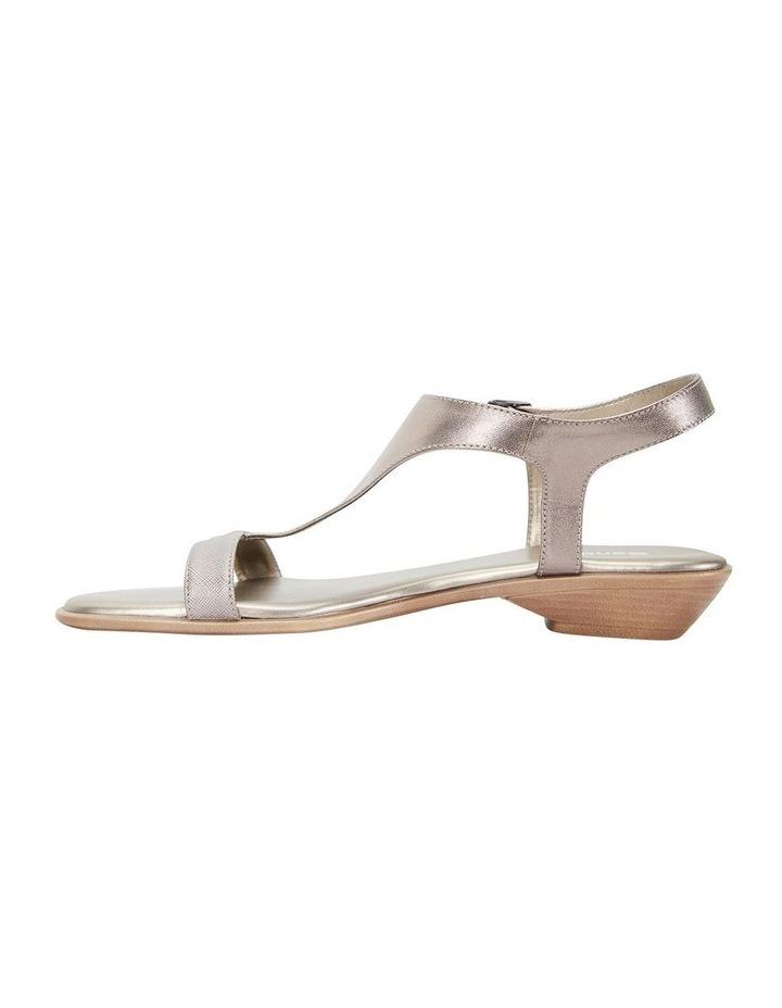 Sandra Pewter Metallic Sandal image 3