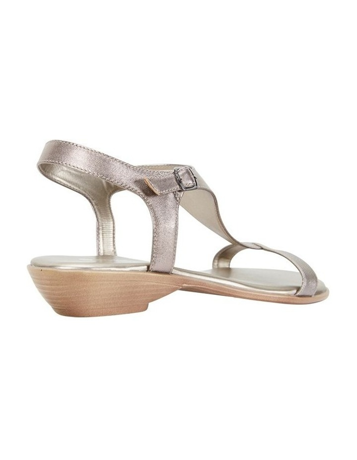 Sandra Pewter Metallic Sandal image 4