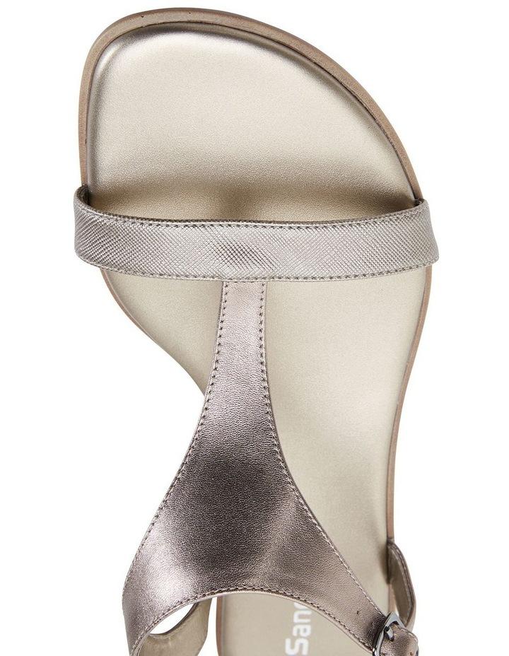 Sandra Pewter Metallic Sandal image 7