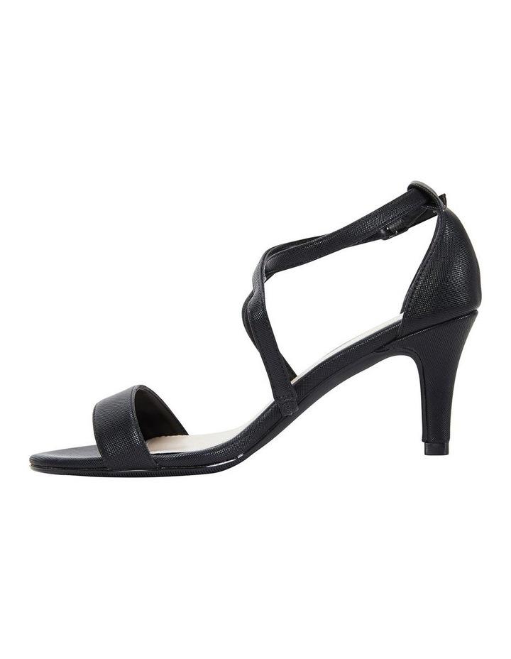 Alison Black Print Stiletto Heel Sandal image 3