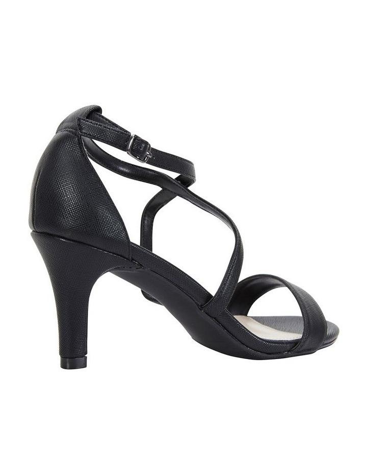 Alison Black Print Stiletto Heel Sandal image 4