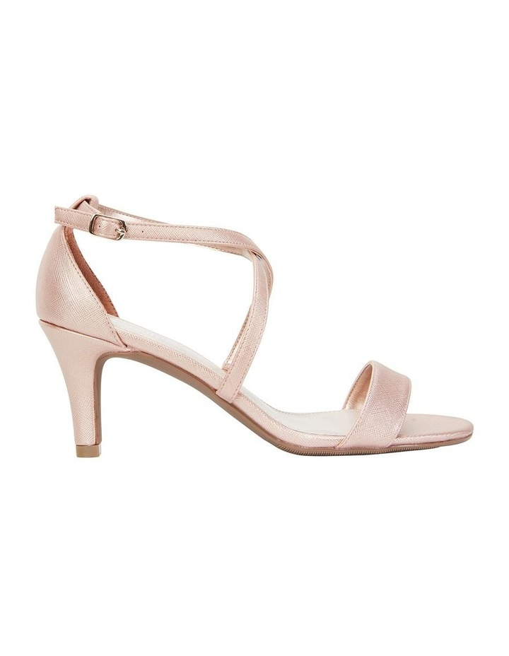 Alison Rose Gold Print Stiletto Heel Sandal image 1