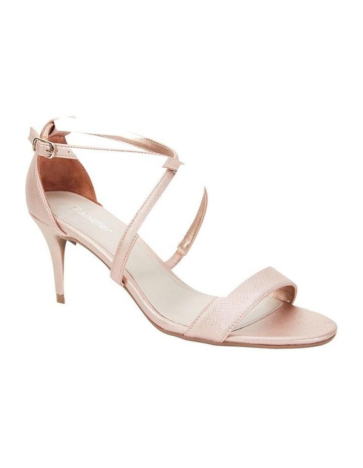 Alison Rose Gold Print Stiletto Heel Sandal image 2