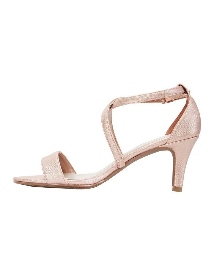 Alison Rose Gold Print Stiletto Heel Sandal image 3