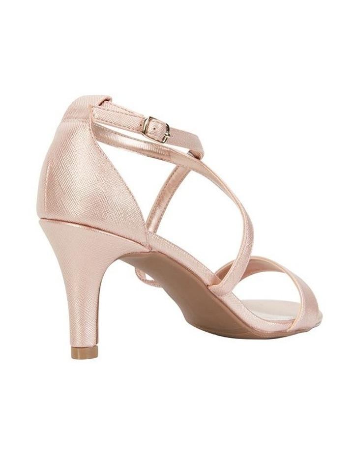 Alison Rose Gold Print Stiletto Heel Sandal image 4