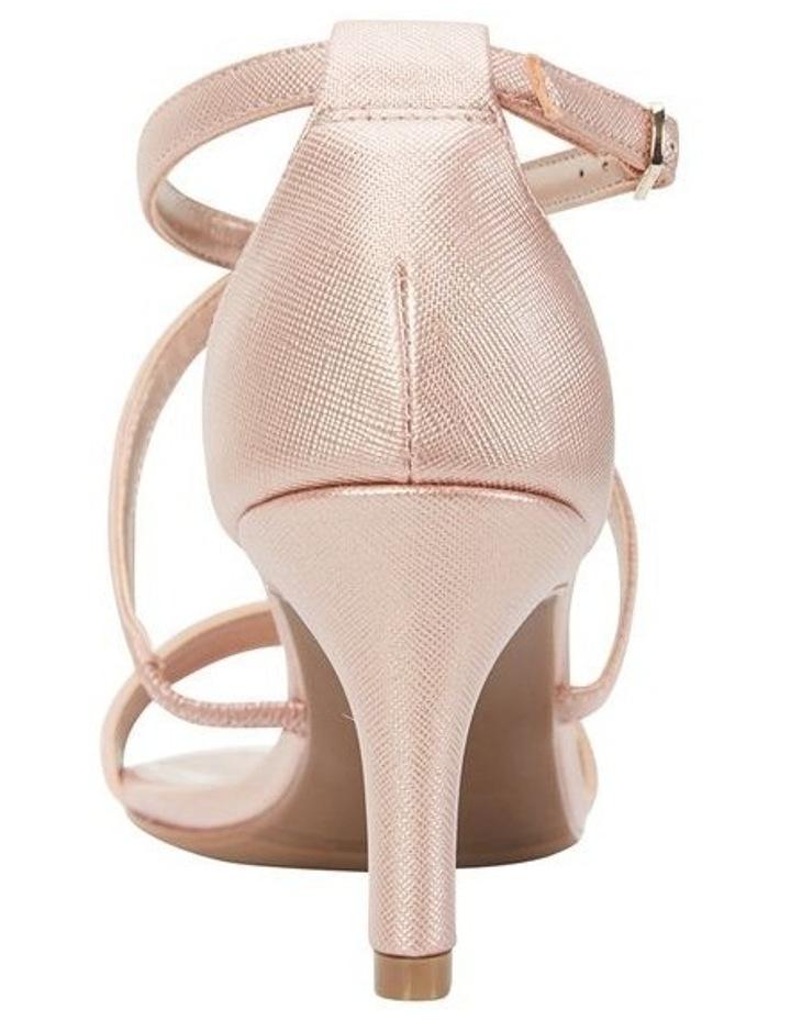 Alison Rose Gold Print Stiletto Heel Sandal image 5