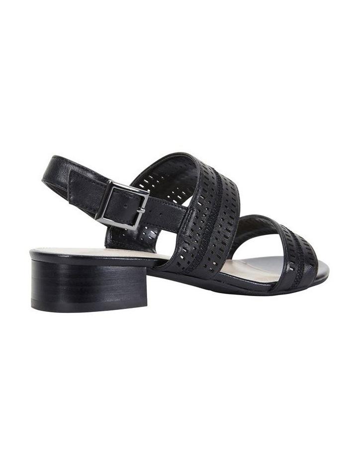 Altona Black Glove Laser Cut Sandal image 4