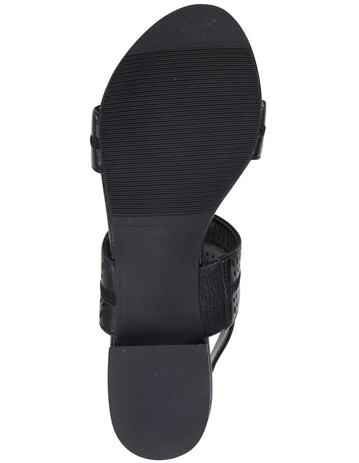 Altona Black Glove Laser Cut Sandal image 6