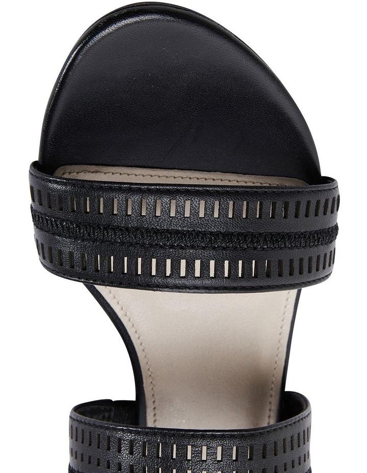 Altona Black Glove Laser Cut Sandal image 7
