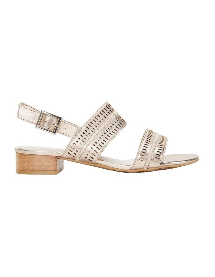 Altona Soft Gold Metallic Laser Cut Sandal image 1