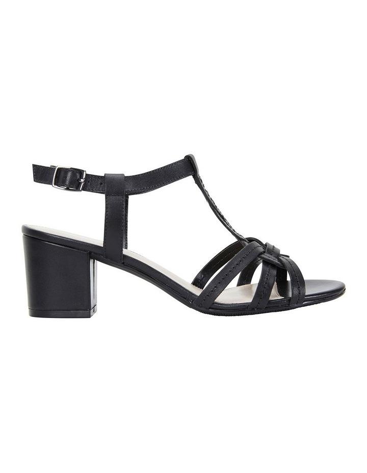 Avenue Black Glove Block Heel Sandal image 1