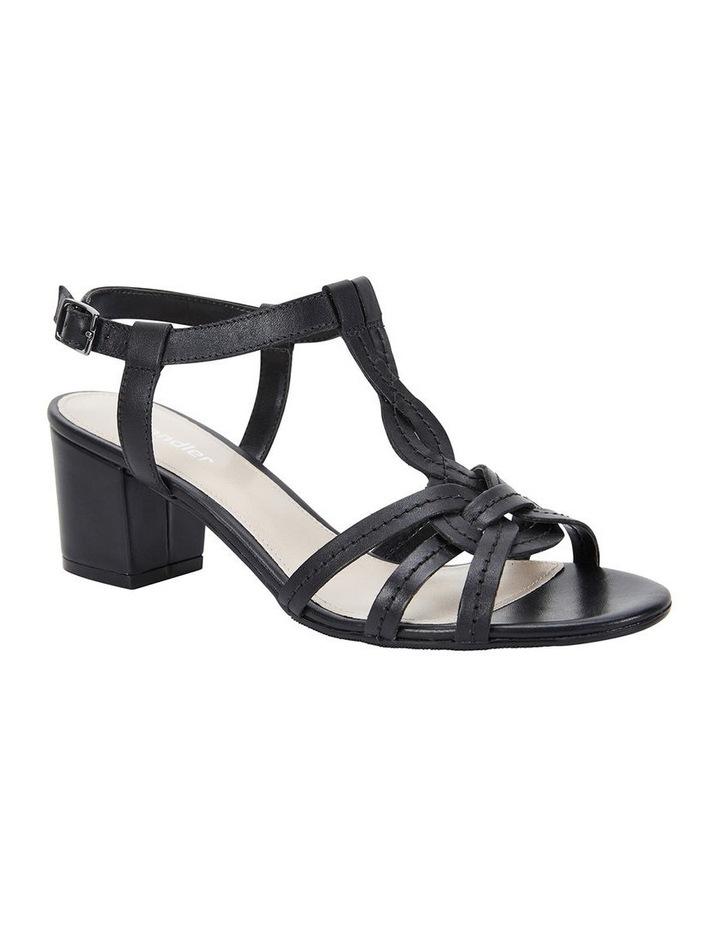 Avenue Black Glove Block Heel Sandal image 2
