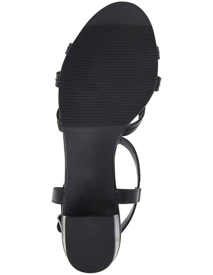 Avenue Black Glove Block Heel Sandal image 6