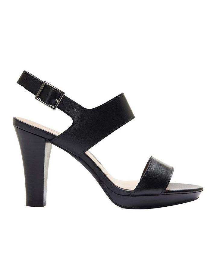 69b4b9d2e88 Sandler Coco Black Glove Two Strap Block Heel Sandal