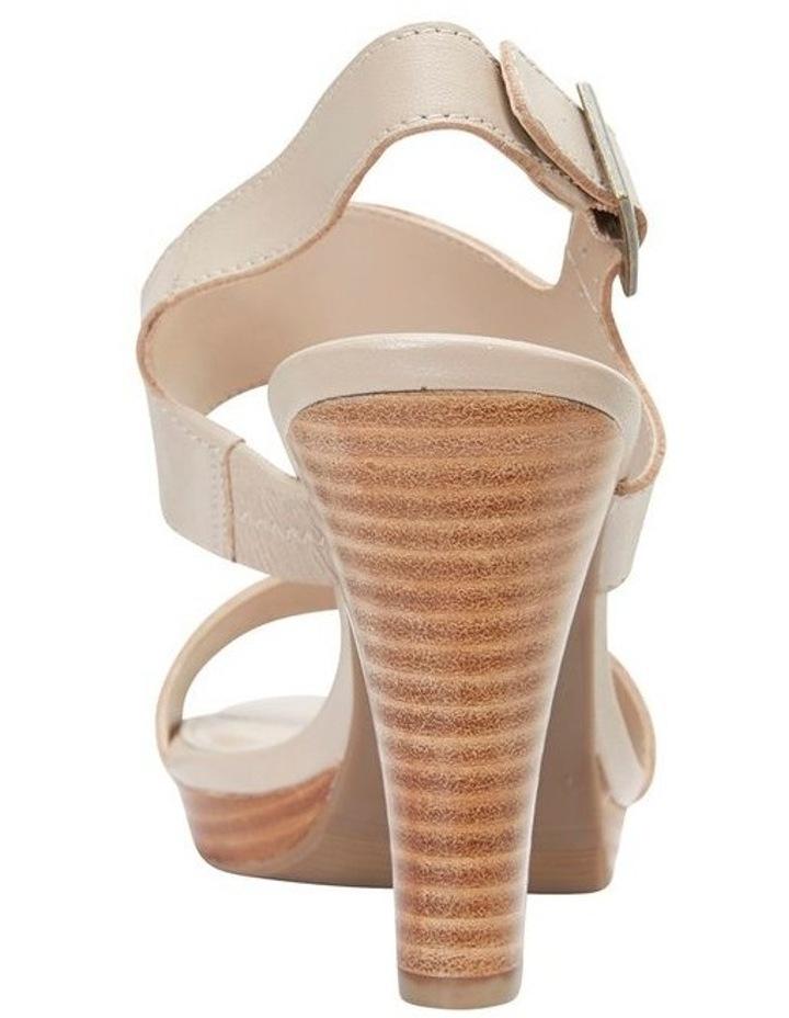 Coco Nude Glove Two Strap Block Heel Sandal image 3