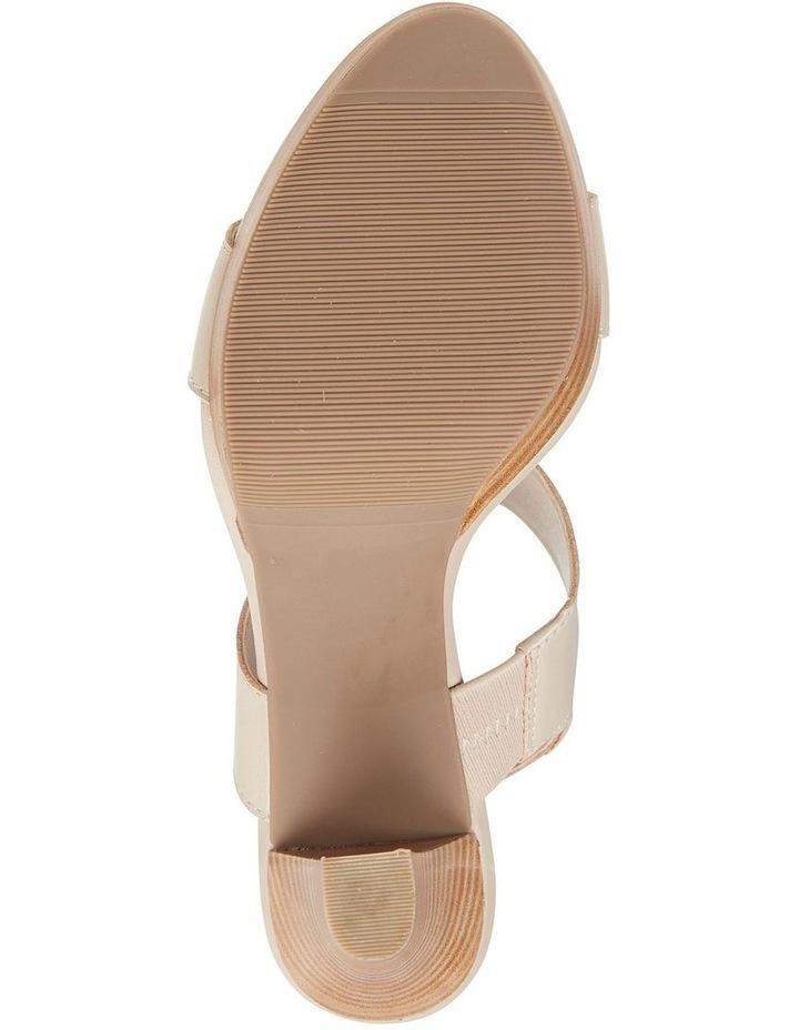 Coco Nude Glove Two Strap Block Heel Sandal image 4
