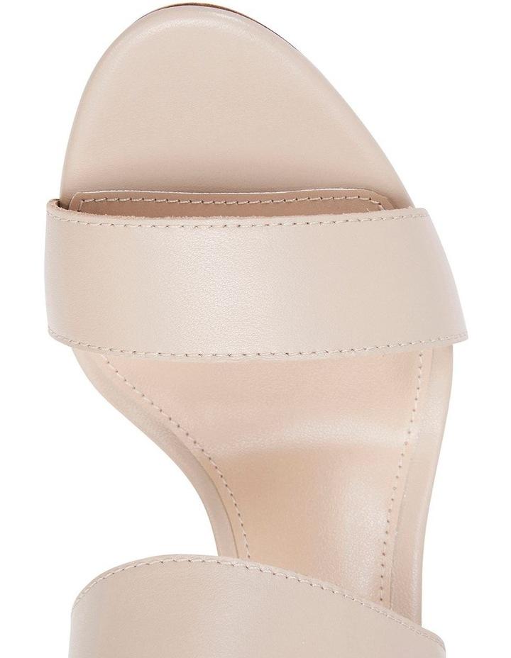 Coco Nude Glove Two Strap Block Heel Sandal image 5