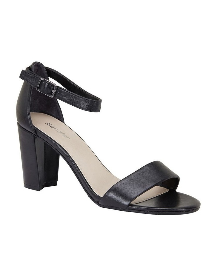 Jessica Black Glove Sandal image 2