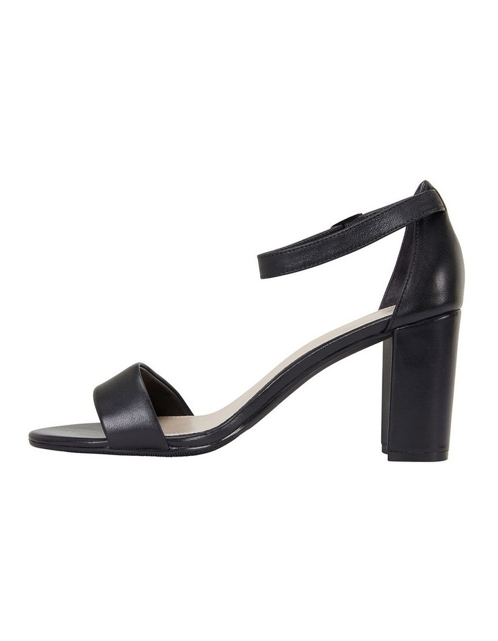 Jessica Black Glove Sandal image 3