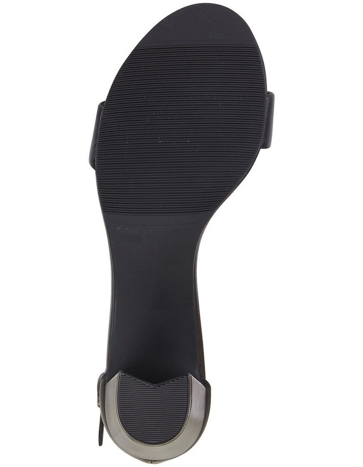 Jessica Black Glove Sandal image 6