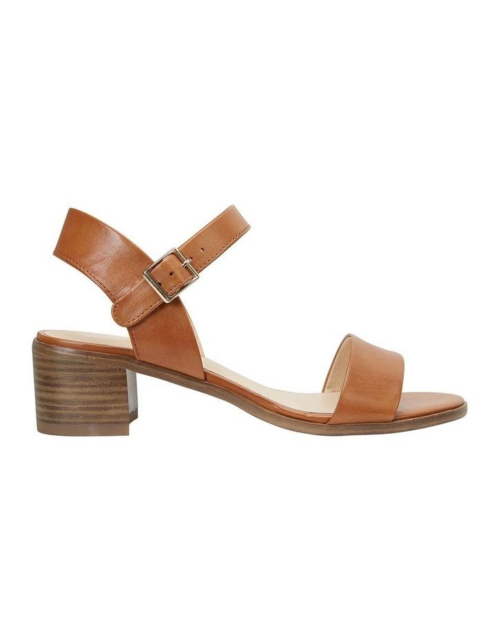 Pluto Cognac Glove Block Heel Sandal image 1