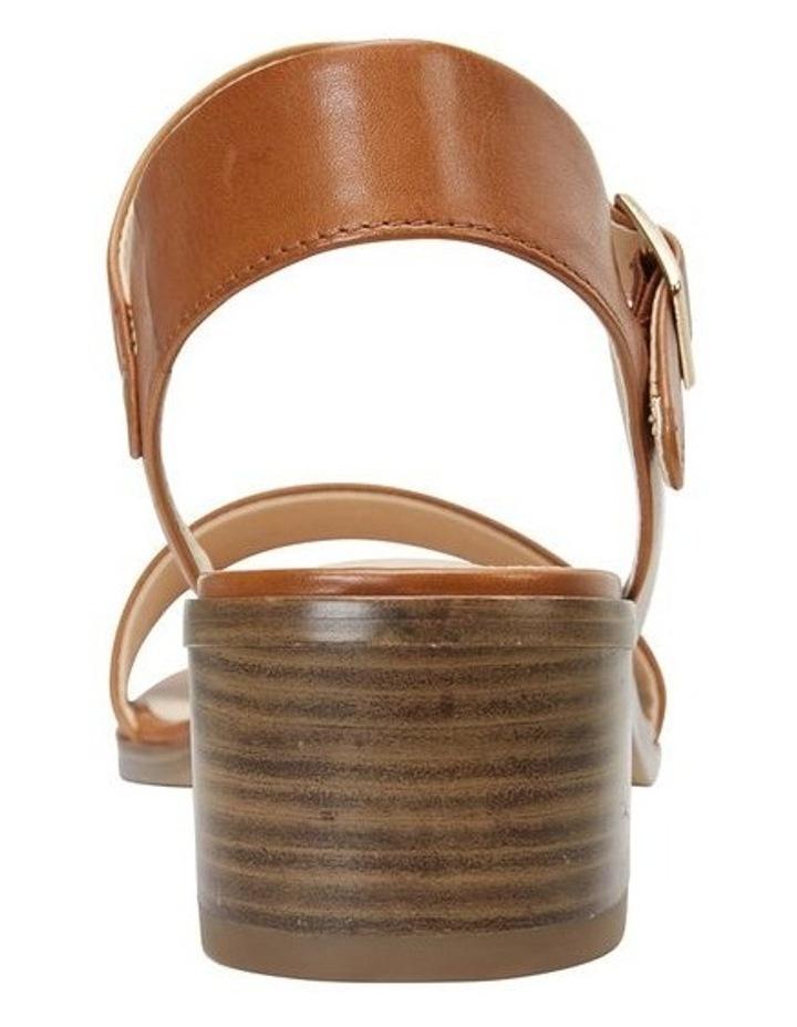 Pluto Cognac Glove Block Heel Sandal image 5