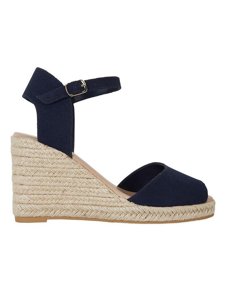 Aloha Navy Linen Sandal image 1