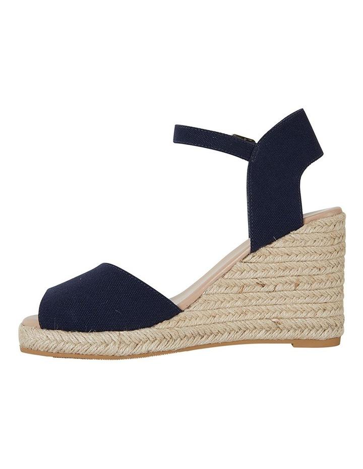Aloha Navy Linen Sandal image 3