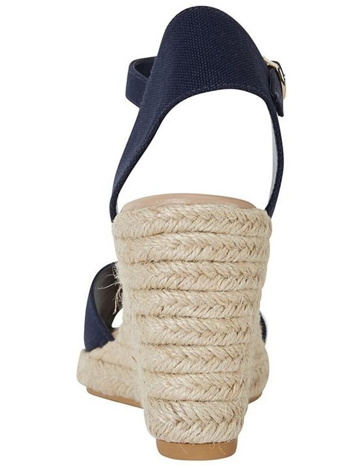 Aloha Navy Linen Sandal image 5