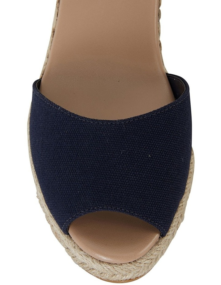 Aloha Navy Linen Sandal image 7