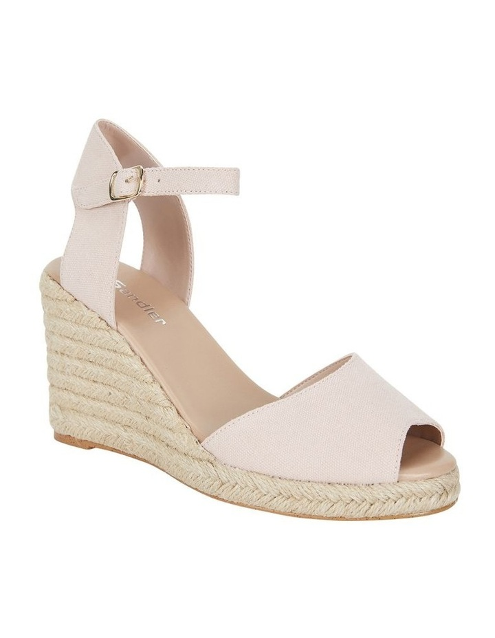 Aloha Blush Linen Sandal image 2